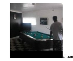 9 foot professional pool table