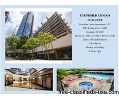 FURNISHED CONDOS FOR RENT-DOWNTOWN HONOLULU-1088 BISHOP