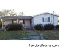 House for 19,900! Good for investor! Will not last long!