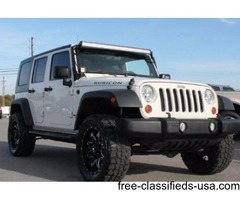 2010 Jeep Wrangler Rubicon Unlimited 4X4 Hardtop