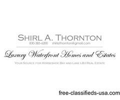 Shirl Thornton Lake Lake LBJ Real Estate