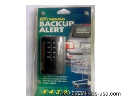 Auto Early Warning BackUp Alert