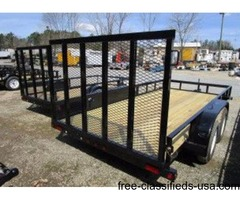 2016 Big Tex Tandem Axle Utility Trailer 6'6 x 14'