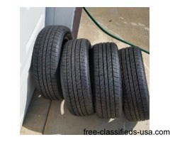 4 farely new Hankook tires