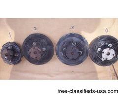 1960s & 70 GM Clutch Fan (CLUTCHES)