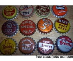 Soda Bottles Caps Big Chief NEHI RC More