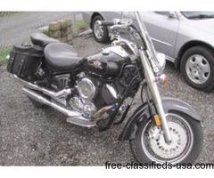 2003 Yamaha V Star 4,438 miles