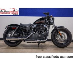 2012 Harley Davidson Forty Eight 48 - ONLY 200 MILES!