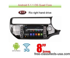 Kia Rio K3 2015 Wince Car camera DVD Player GPS Radio Stereo Video SWC