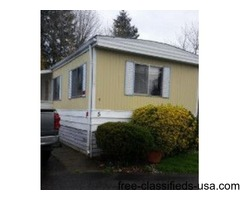 Forsale Mobile home in family park