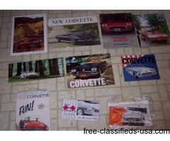 Corvette Orig Sales Brochures