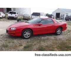 2002 Chevrolet Camaro - V6 Red, sharp, fun!