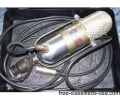 1950's old RCA microphone 77-DX