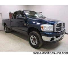 2008 Dodge Ram 2500 4wd 6.7 Diesel Quad Cab Automatic Long Bed