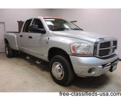 2006 Dodge Ram 3500 4wd 5.9 Diesel Quad Cab Automatic Dually
