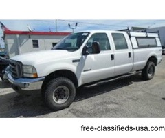 Ford F-350 4x4, Four Wheel Drive, Super Duty, V-8 6.0 Turbo Diesel