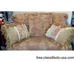 sofa & oversized Chair gorgeous set
