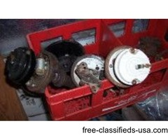 1957 Corvette & Chevy Cast Dist & Pumps