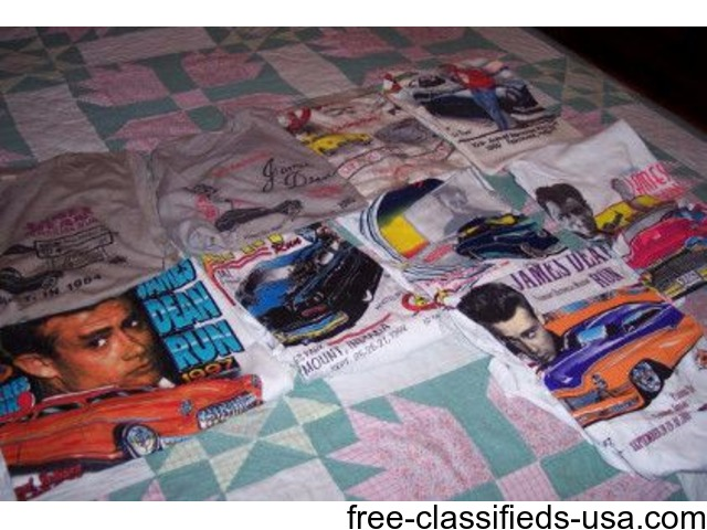10 James Dean Tee Shirts | free-classifieds-usa.com