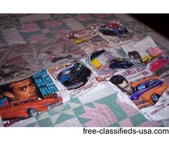 10 James Dean Tee Shirts