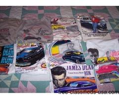 James Dean Tee Shirts