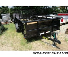 2016 Big Tex Single Axle Vanguard Utility Trailer 6 1/2' x 12' (11179)