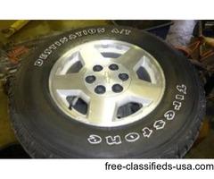 "17"" Chevrolet/GM Wheels/Tires"