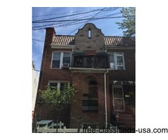 LARGE TWO FAMILY BRICK! GREAT LOCATION!