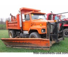 1995 International Single Axle Dump Truck