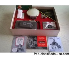 VINTAGE 1958 POLAROID HIGHLANDER LAND CAMERA