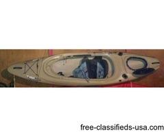 Old Town Trip Angler Kayak