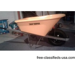 New wheel barrow