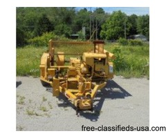 HOGG- DAVIS REEL/ CABLE PULLER TRAILER