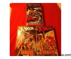Avengers/X-Men Lot of Three Paperback Books