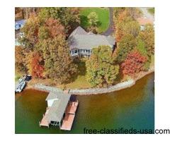 Smith Mountain Lake Waterfront Home near Westlake
