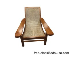 Antique Plantation Chairs Long Arms Indian Furniture