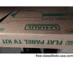 Flat Panel TV Moving Box(Complete Kit,NEW)