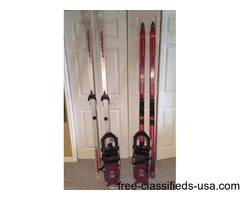 Cross Country Skiis & Show Shoes