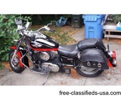 2004 Vulcan Classic 1500 Red & Black