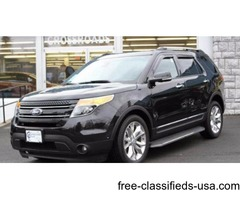 2012 Black Ford Explorer SUV V6 in Ravena! FORD FACTORY CERTIFIED