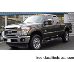 2016 Bronze Ford F-350 Super Duty Pickup Truck V8 Turbocharger