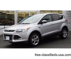 2014 Silver Ford Escape SUV I4 Turbocharger in Ravena! 58K Spotless