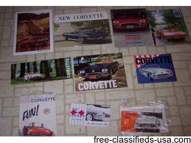 1957 Corvette Sales Brochure   free-classifieds-usa.com