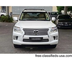 URGENT Selling my used 2015 lexus lx570 GCC Specs full option