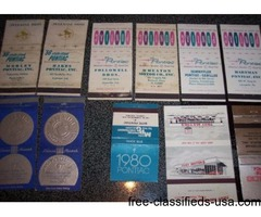 (40) GM Matchbook Covers | free-classifieds-usa.com