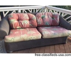deck couch and two chairs