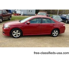 2010 Sharp Red Toyota Camry runs and drives good