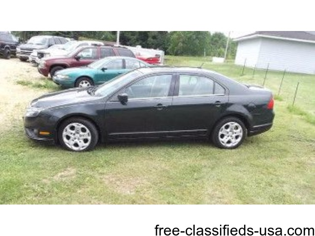 2010 ford fusion 110k miles good tires and a good history report