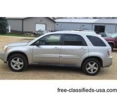 2005 Chevy Equinox 4x4 with leather, Silver