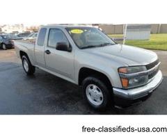 2007 Chevrolet Colorado Ext LT